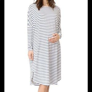 Hatch Jersey drape dress